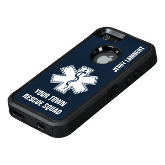 EMT EMS Paramedic Name and Squad OtterBox iPhone 5/5s/SE Case