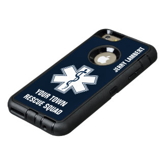 EMT EMS Paramedic Name and Squad OtterBox iPhone 6/6s Plus Case