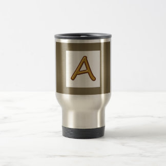 Encourage Excellence : Golden AAA Award Image Stainless Steel Travel Mug