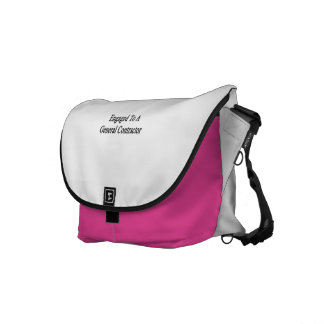 Engaged To A General Contractor Commuter Bag
