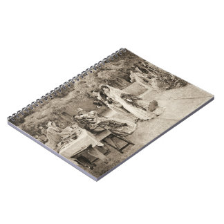 Engagement Announcement 1898 Spiral Note Book