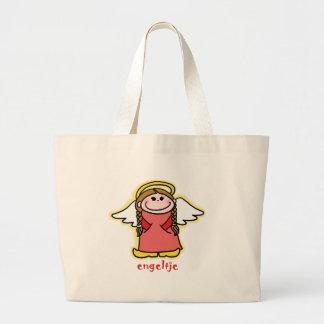 Engeltje (little angel in Dutch) Jumbo Tote Bag