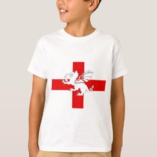 England Flag and Dragon Tshirts