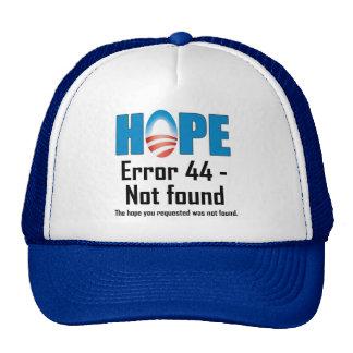 Error 44 - Not found Cap