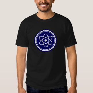 Essential Blue Atomic Model Seal Tshirt