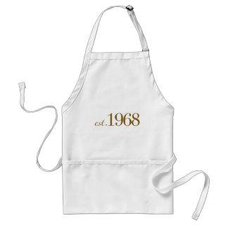 Est 1968 standard apron