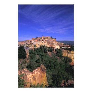 EU, France, Provence, Vaucluse, Rousillon. Photo