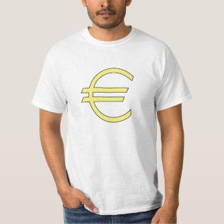 Euro Symbol Shirts