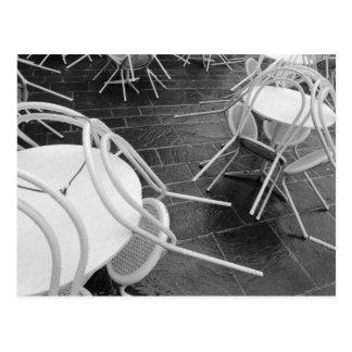 Europe, France, Paris. Chairs, Jardin du 4 Postcard