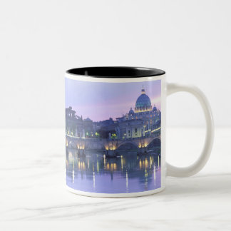 Europe, Italy, Rome, The Vatican. St. Peter's & Two-Tone Mug