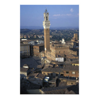 Europe, Italy, Siena. Town overview Photograph