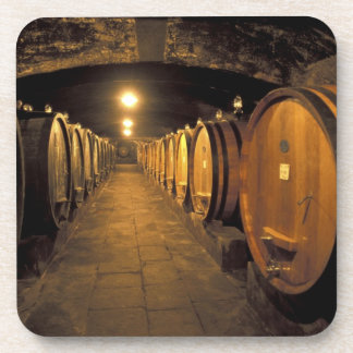 Europe, Italy, Toscana region. Chianti cellars Coaster