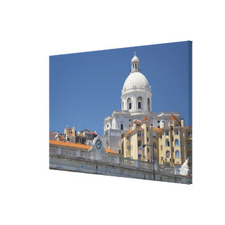 Europe, Portugal, Lisbon (aka Lisboa). Military Canvas Prints
