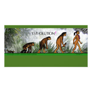 EVE-OLUTION Card Personalized Photo Card