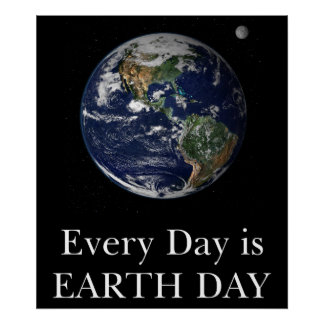 Every Day is Earth Day print or poster