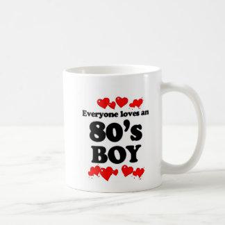 Everyone Loves An 80's Boy Basic White Mug