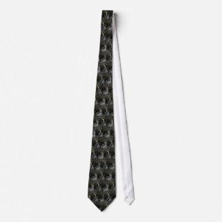 Evil Black Cat Tie