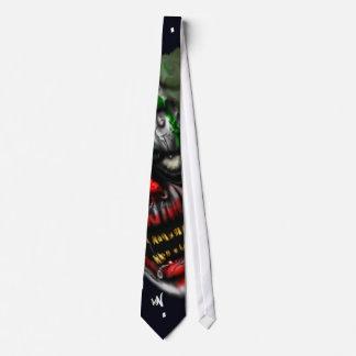 evil clown tie
