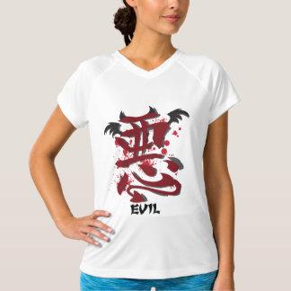 Evil Kanji Ladie's Micro Fiber Sleeveless Shirts