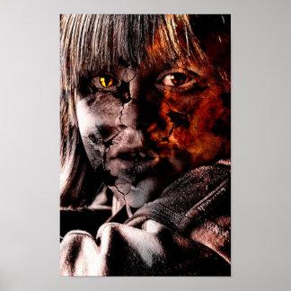 Evil Portrait Poster