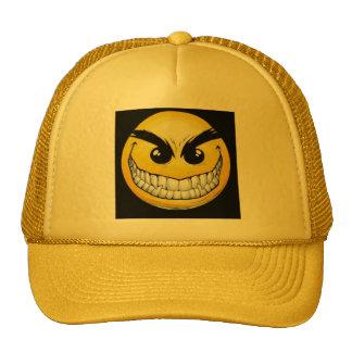 Evil SMILEY FACE Hat