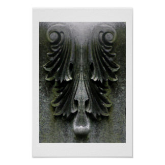 Evil Stone Poster