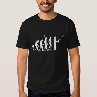 evolution fishing t-shirts