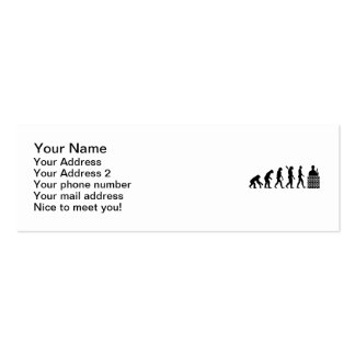 Evolution Mason brick layer Pack Of Skinny Business Cards