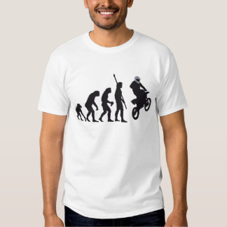 evolution motorbike tee shirt