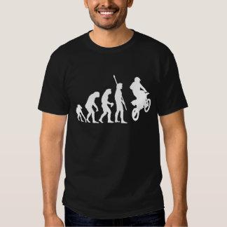 evolution motorcycle tshirt