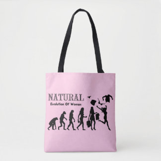 Evolution Of Liberated Woman Tote Bag