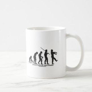 Evolution of the Zombie Basic White Mug