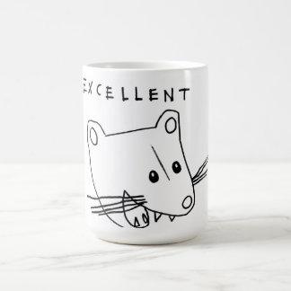 excellent basic white mug