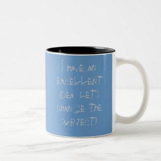 Excellent idea coffee mug