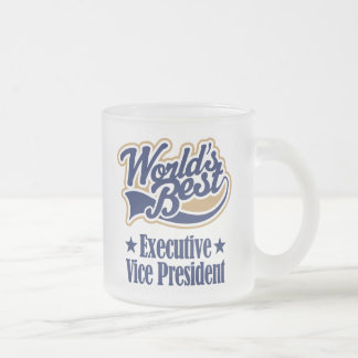 Executive Vice President Gift Frosted Glass Mug