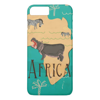 Experience Africa Vintage Travel Poster iPhone 7 Plus Case
