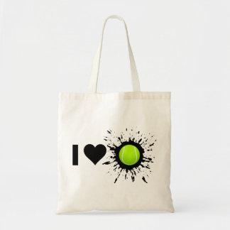 Explosive I Love Tennis Budget Tote Bag