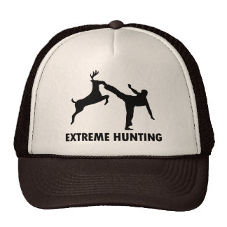 Extreme Hunting Deer Karate Kick Cap