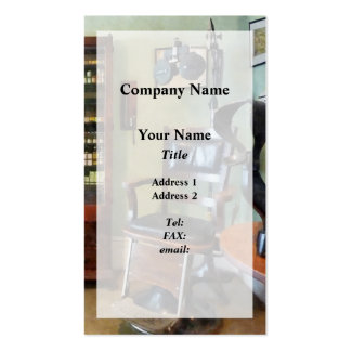 Eye Doctor's Office Pack Of Standard Business Cards