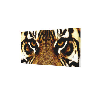 Eyes of a Tiger Gallery Wrap Canvas