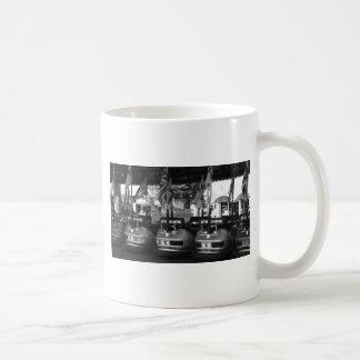 Fairground Dodgem Bumper Car Basic White Mug
