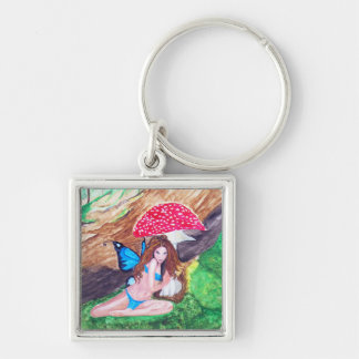 Fairy Watercolor Premium or Basic Keychain 2
