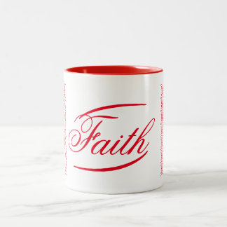 Faith Two-Tone Mug