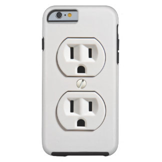 Fake Electrical Outlet Funny Tough iPhone 6 Case