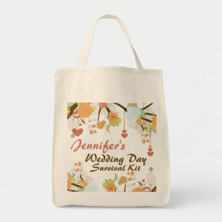 Fall Fantasy Floral Wedding Day Survival Kit Bag