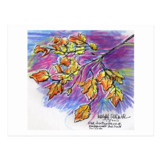 Fall with Rachmaninoff Postcard