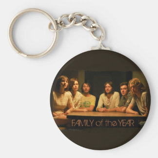 Family of the Year Basic Round Button Key Ring