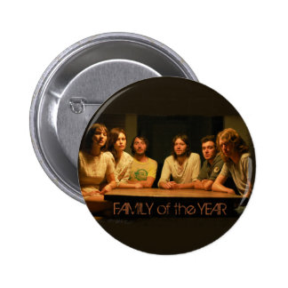 Family of the Year Logo 6 Cm Round Badge