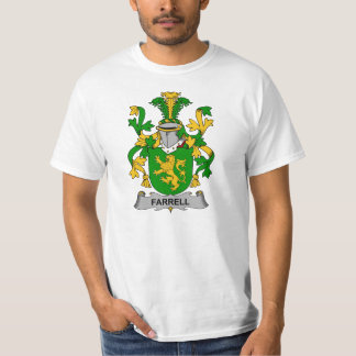 Farrell Family Crest Tshirts