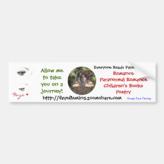 Faye Fleming Bumper Stickers